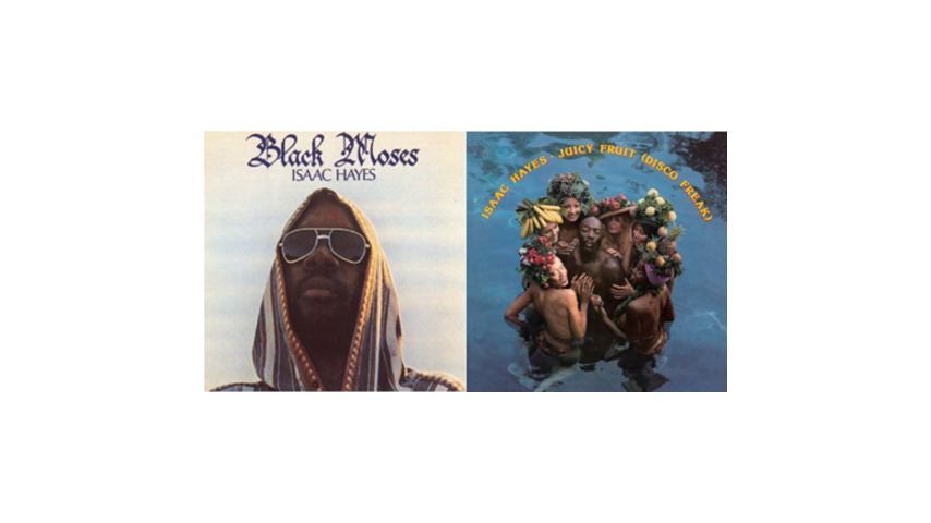 Isaac Hayes: <em>Black Moses</em> and <em>Juicy Fruit/Disco Freak</em> (reissues)
