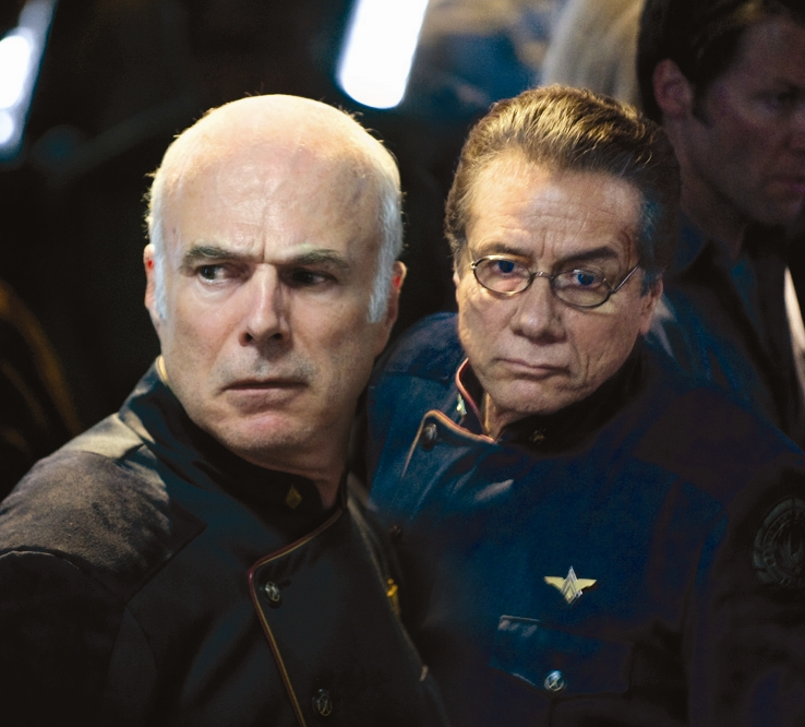 Catching Up With... <em>Battlestar Galactica</em>'s Edward James Olmos