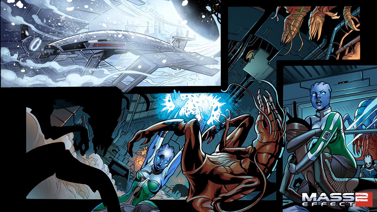 Mass Effect Sex Stories