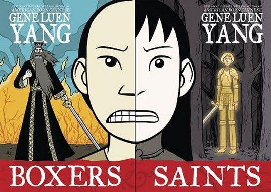 <i>Boxers & Saints</i> by Gene Luen Yang