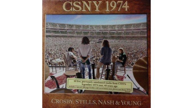 Crosby Stills Nash Young Csny 1974 Music Crosby Stills