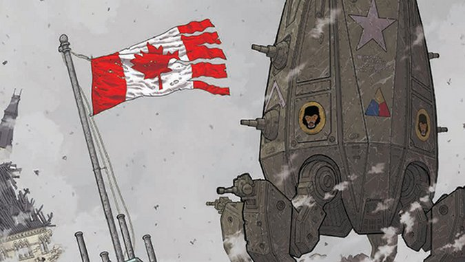 <i>We Stand On Guard</i> #1 by Brian K. Vaughan & Steve Skroce Review