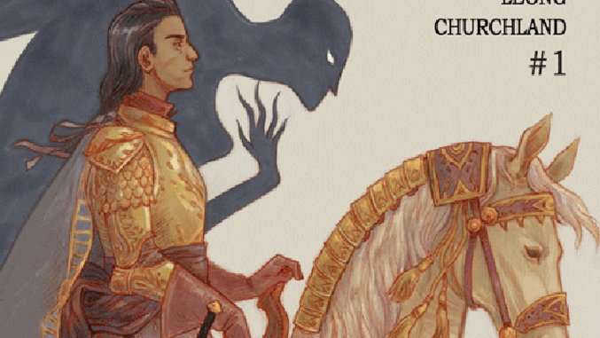 <i>From Under Mountains</i> #1 by Claire Gibson, Marian Churchland, Sloane Leong & Brandon Graham