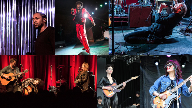 The 25 Best Live Acts of 2015