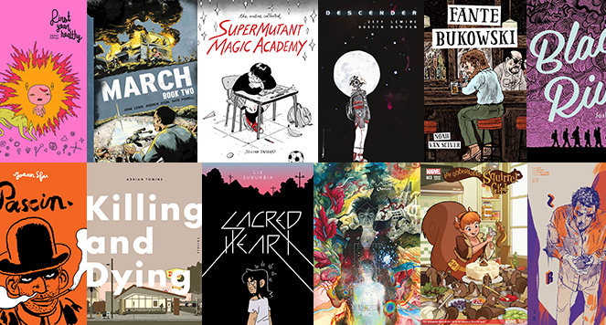 The Best Comic Books of 2015