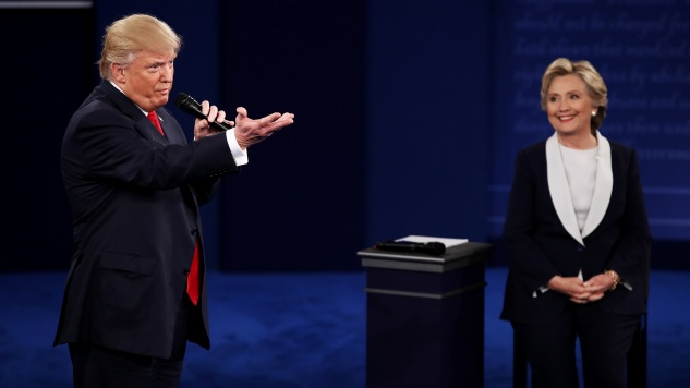 The Funniest Tweets About the Second Presidential Debate