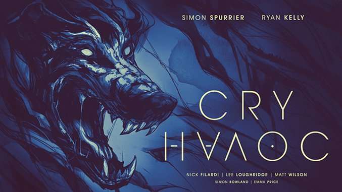Simon Spurrier Lets Slip The Wolves of War in Chaotic Image Comic, <i>Cry Havoc</i>