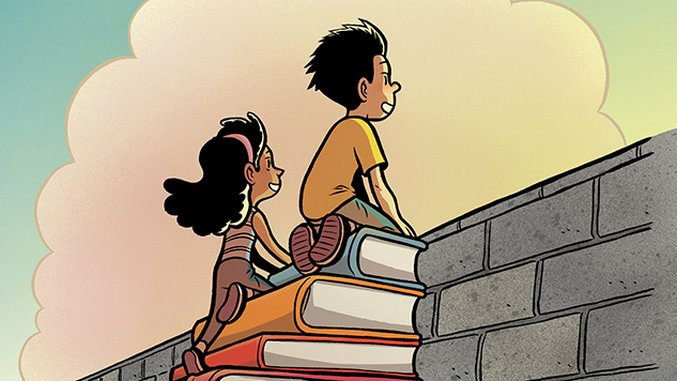 Gene Luen Yang Inspires Kids to Read as the New National Ambassador for Young People's Literature