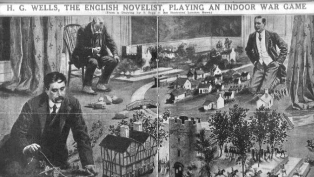 How H.G. Wells Helped Pioneer Tabletop Gaming in 1913