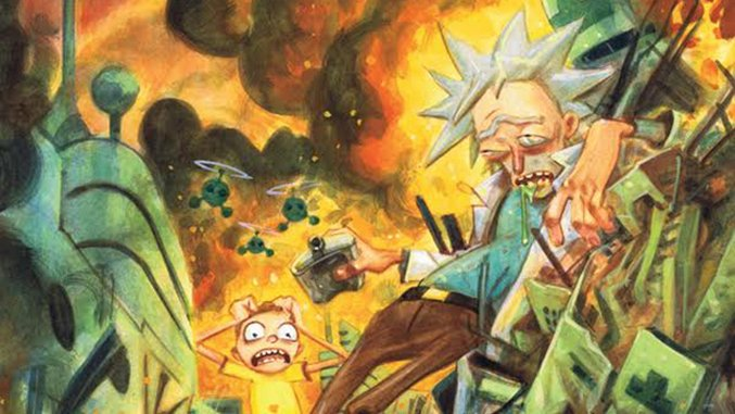 Exclusive: Incoming <i>Rick and Morty</i> Comic Writer Tom Fowler Takes Series to Sad, Absurd Extremes