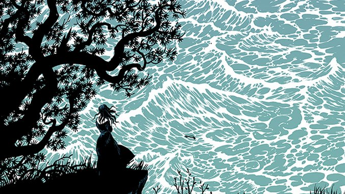 "Songs Illustrated: Deafheaven's ""Gifts for the Earth"" by Becky Cloonan"