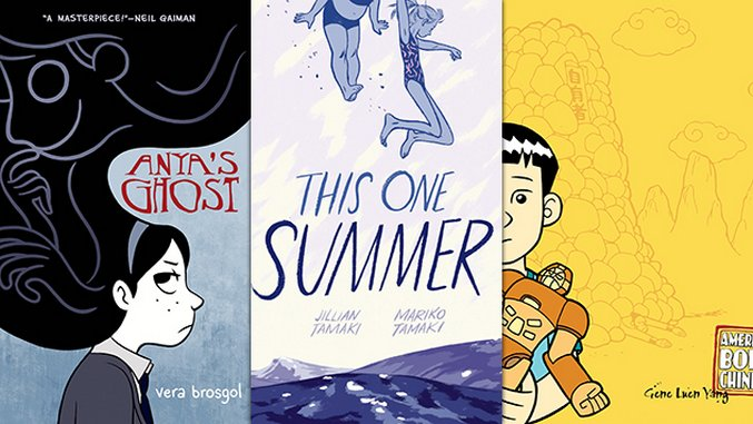10 Years Later Our 20 Favorite Graphic Novels From First Second