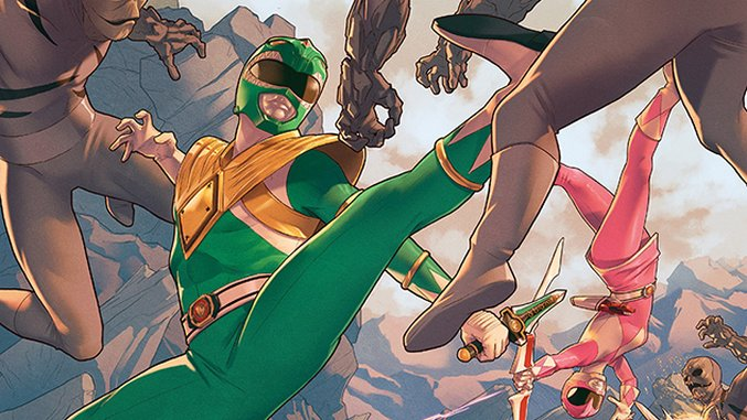 <i>Power Rangers</i> Scribe Kyle Higgins on Morphing &#8216;90s Nostalgia into Good Comics