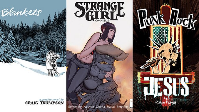 Easter Reading: 10 Comics That Grapple with Christianity