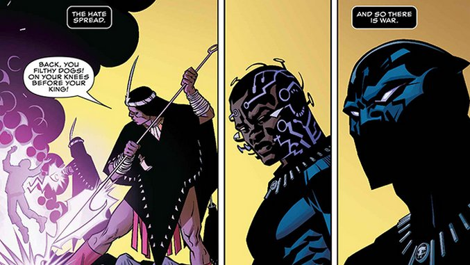 Where Does <i>Black Panther</i> Fall on the Prose-to-Comics Learning Curve?