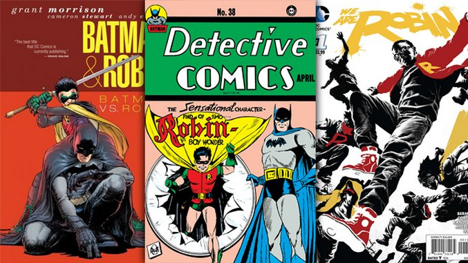 Batman's BFFs: A Guide to All the Robins Since 1940