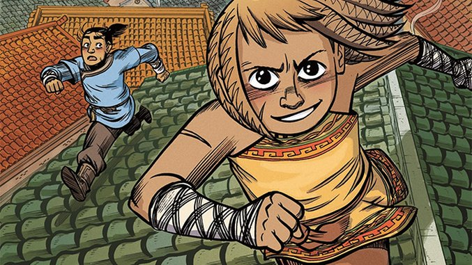 Faith Erin Hicks on Her Historical Fantasy <i>The Nameless City</i> and the Need for More Kissing in Comics