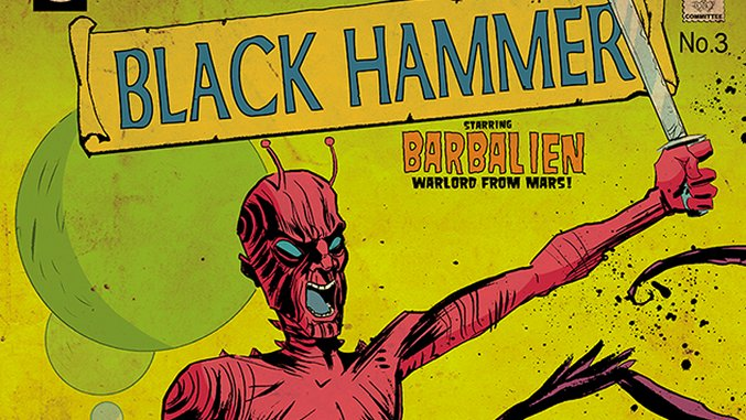Matt Kindt Interviews Jeff Lemire on <i>Black Hammer</i>, a Treatise on Superhero Nostalgia