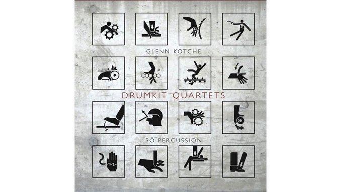 Sō Percussion & Glenn Kotche: <i>Drumkit Quartets</i> Review