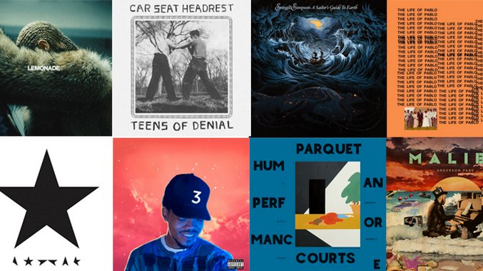 The 25 Best Albums of 2016 (So Far)