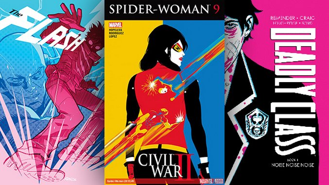 The Best Comic Book Covers of July 2016