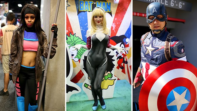 The Best Cosplay of San Diego Comic-Con, Day 2