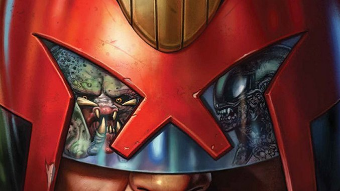 <i>Predator vs. Judge Dredd vs. Aliens</i> Continues the Tradition of Unlikely, Batshit Crossovers