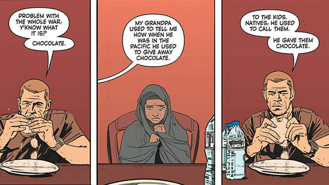Tom King & Mitch Gerads Dissect the Muddy Aftermath of War in <i>The Sheriff of Babylon</i>
