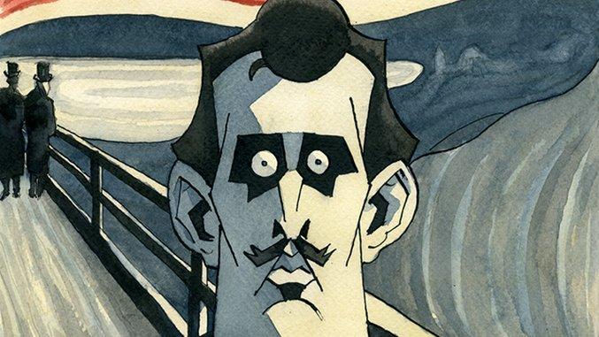 Norwegian Cartoonist Steffen Kverneland on Biography, Obsession and <i>The Scream</i> Painter Edvard Munch