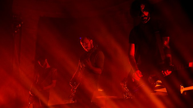 Live Photos: Explosions in the Sky Are Still a 3-Guitar Sonic Epiphany @ Newport Music Hall
