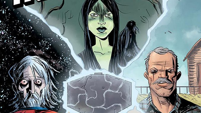 Exclusive: Nate Powell, Matt Kindt, Dustin Nguyen & More Expand Jeff Lemire's <i>Black Hammer</i> Universe in New Annual