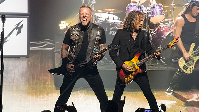 Live Photos: Metallica Unleash Hell at Intimate Show @Webster Hall, NYC