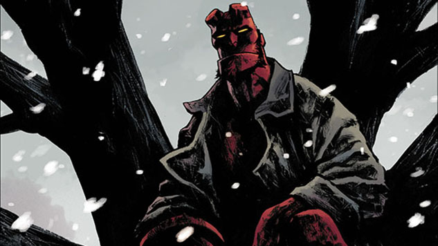 Dark Horse Cover Reveals: <i>Hellboy Winter Special</i>, <i>Lobster Johnson: Garden of Bones</i>