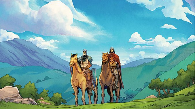 Max Landis Twists Swords-and-Steeds Fantasy in New Comic, <i>Green Valley</i>