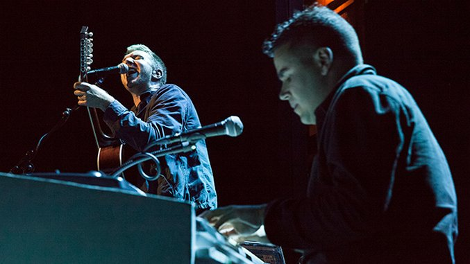 Photos: Behind the Scenes at Hamilton Leithauser + Rostam's Debut Show at Rough Trade