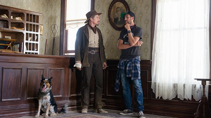 Ti West Trades Ghosts for Gunslingers <i>In a Valley of Violence</i>