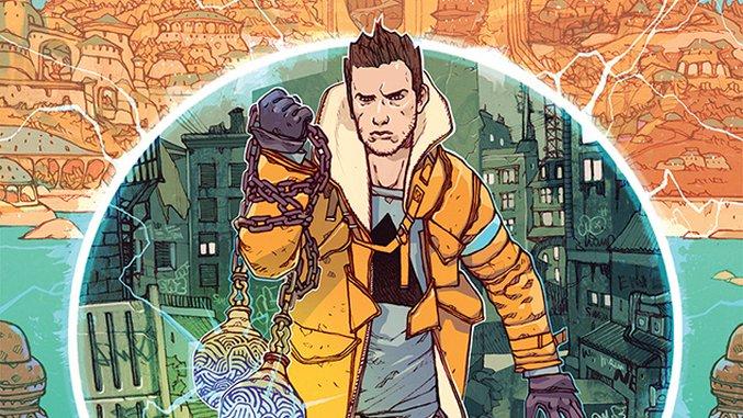 Steve Orlando & Jakub Rebelka Bring Sci-Fi Family Drama Home in <i>Namesake</i>