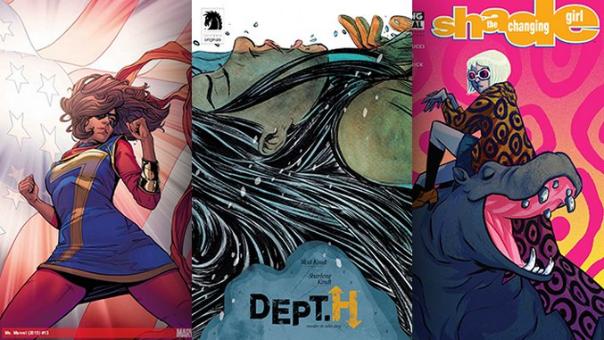 The Best Comic Book Covers of November 2016