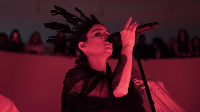 Live Photos: Banks Worships at The Altar of The Guggenheim (NSFW)