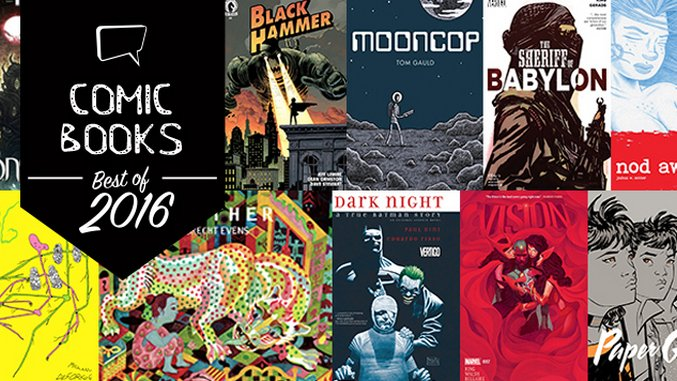 The 25 Best Comic Books of 2016