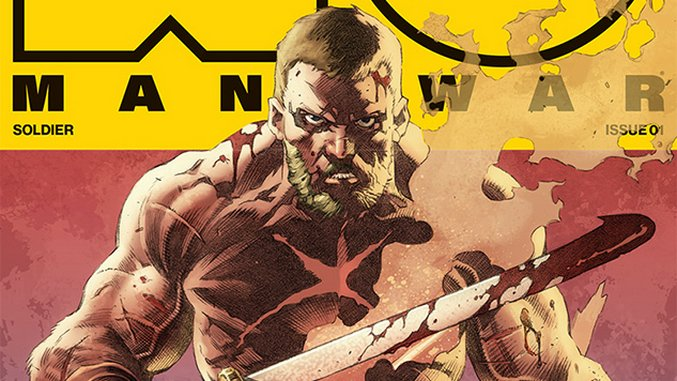 Exclusive Cover Reveal: New <i>X-O Manowar</I> Series Kicks Off Under Matt Kindt, Tomas Giorello and a Rotation of Artists