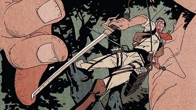 Read Ronald Wimberly's Entire Story from the <i>Attack on Titan Anthology</I>