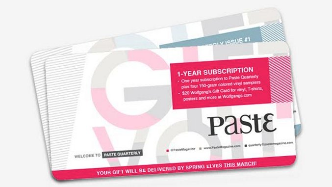 Give a <i>Paste Quarterly</i> Membership This Holiday Season