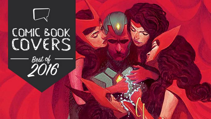 The Best Comic Book Covers of 2016