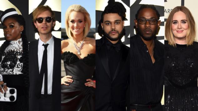 Best Dressed on the Red Carpet: Grammy Awards 2016