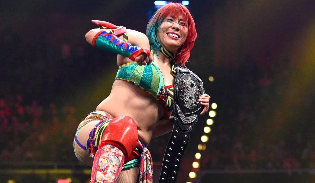 Asuka completa 500 dias como NXT Women's Champion