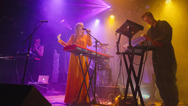 Live Photos: Austra, the Operatic Indie Outfit of the Future, Bathes Brooklyn in Neon