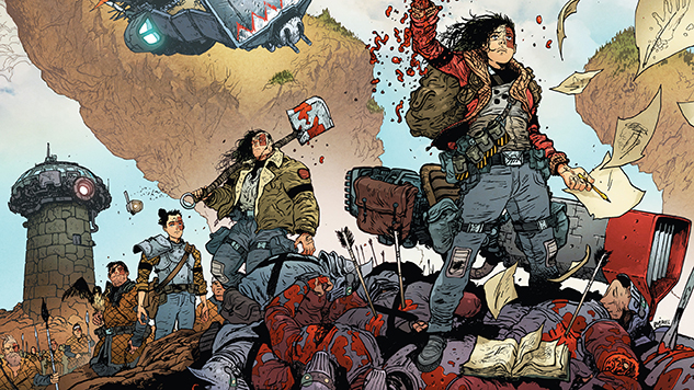 Daniel Warren Johnson's <i>Extremity</i> is a Hyperviolent Sci-Fi Comic About Hope