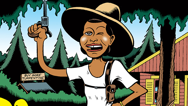 Fire!!: The Zora Neale Hurston Story Cartoonist Peter Bagge