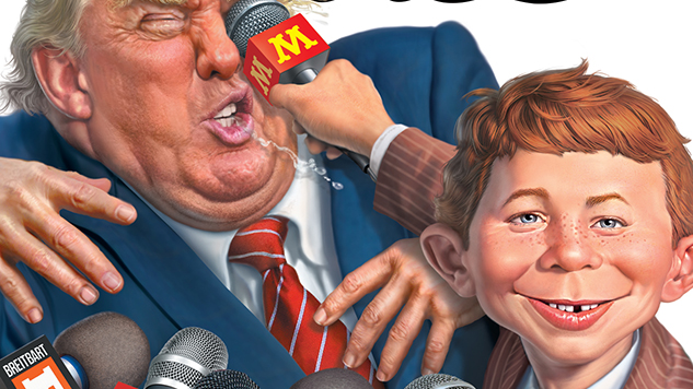 Exclusive Preview: Trump Stars in His Own Kids Book for April's <i>MAD Magazine</i>